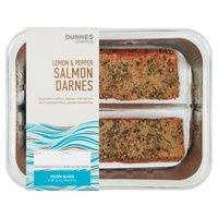 Dunnes Stores Lemon & Pepper Salmon Darnes 255g