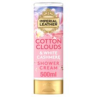 Imperial Leather Moisturising Cotton Clouds & White Cashmere Shower Cream 500ml