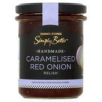 Dunnes Stores Simply Better Handmade Caramelised Red Onion Relish 210g