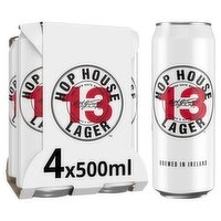 Hop House 13 Lager 4 x 500ml Can