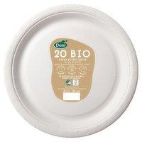 Duni 20 Bio Paper Plates Basic 22cm