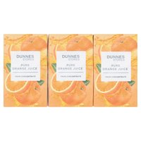 Dunnes Stores Pure Orange Juice from Concentrate 6 x 250ml
