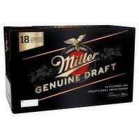 Miller Genuine Draft Cold-Filtered Beer 18 x 330ml