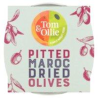 Tom & Ollie Pitted Moroc Olives 150g