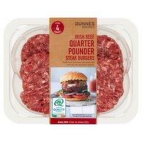 Dunnes Stores 4 Irish Beef Quarter Pounder Steak Burgers 454g
