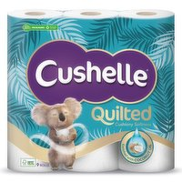 Cushelle Ultra Quilted Coconut 9 Rolls