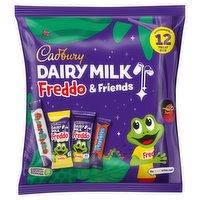 Cadbury Dairy Milk Freddo & Friends Chocolate Pouch 191g