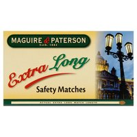 Maguire & Paterson Extra Long Safety Matches