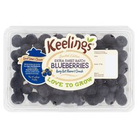 Keelings Limited Edition Extra Sweet Batch Blueberries 277g