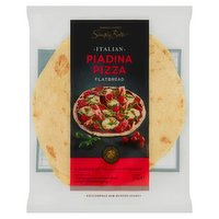 Dunnes Stores Simply Better Italian Piadina Pizza Flatbread 3 x 125g (375g)