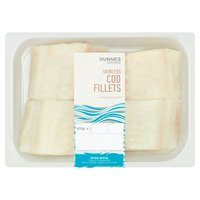 Dunnes Stores Skinless Cod Fillets 400g