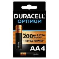 Duracell Optimum AA Batteries Pack of 4