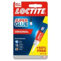 Loctite Super Glue Original 3g + 50% Extra