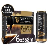 Guinness™ NITROSURGE™ Stout Beer Cans 6 X 558ml Cans
