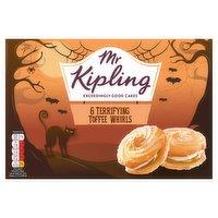Mr Kipling 6 Terrifying Toffee Whirls