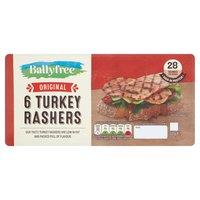 Ballyfree 6 Original Turkey Rashers 150g