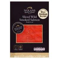 Nolans Sliced Wild Smoked Salmon 100g