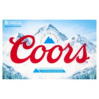 Coors Lager 8 x 500ml