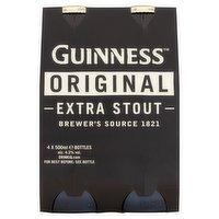 Guinness Original Extra Stout 4 x 500ml