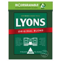 Lyons Tea Original 160 Tea Bags