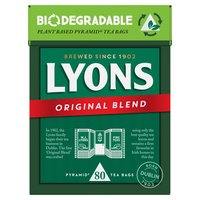 Lyons Tea Original 80 Tea Bags