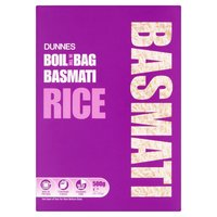 Dunnes Boil in the Bag Basmati Rice 4 x 125g (500g)