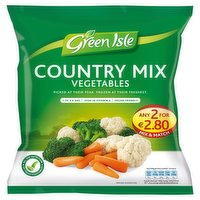 Green Isle Country Mix Vegetables 450g