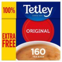 Tetley 160 Original Tea Bags 500g