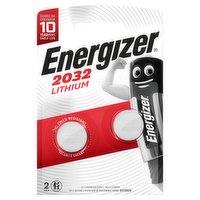 Energizer 2032 Lithium Coin Battery 2 Pack