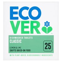 Ecover 25 Dishwasher Tablets Classic 0.5kg
