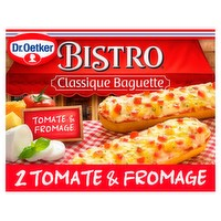 Dr. Oetker Bistro Classique Baguette Tomate & Fromage 2 x 125g (250g)