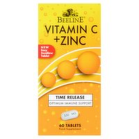 Beeline Vitamin C + Zinc 550mg 60 Tablets