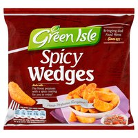 Green Isle Spicy Wedges 600g
