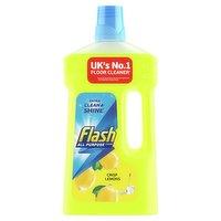 Flash Multi-Surface & Floor Liquid Cleaner Lemon 1l