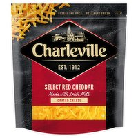 Charleville Select Red Cheddar Grated Cheese 200g