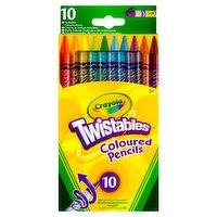 Crayola Twistables Coloured Pencils 10 Pack