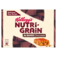 Kellogg's Nutri-Grain Choc Chip Breakfast Bakes 6 x 45g