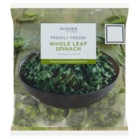 Dunnes Stores Freshly Frozen Whole Leaf Spinach 750g