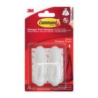 Command™ Damage Free Medium Hooks 2 Pack