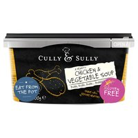 Cully & Sully A Hearty Chicken & Vegetable Soup 400g