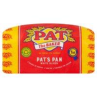 Pat the Baker Pat's Pan Premium White Sliced Bread 800g