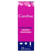 Carefree® Plus Long Light Scent Pantyliners 24ct