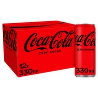 Coca-Cola Zero Sugar 12 x 330ml