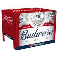 Budweiser King of Beers Lager Beer 20 x 300ml