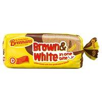 Brennans Brown & White in One Bite 800g