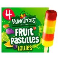 Rowntree's Fruit Pastilles Ice Lollies 4 x 65ml
