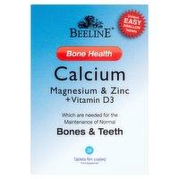 Beeline Bone Health Calcium Magnesium & Zinc + Vitamin D3 30 Tablets Film Coated