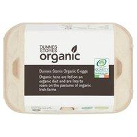 Dunnes Stores Organic 6 Eggs 348g
