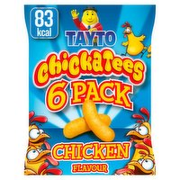Tayto Chickatees Chicken Flavour 6 x 17g