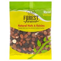 Forest Feast Real Value Natural Nuts & Raisins 250g